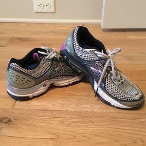 Shoes - Purple accent tennis shoes